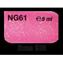 Rosa Glitter NG61