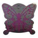 Cartine Farfalla Rosa Adesive B103